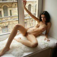 Sonia in Window Sill - W4B