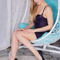 Hot Blonde Lucy Heart in Fun Lounge by MetartX
