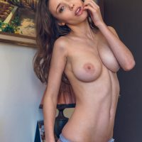 Passionate Mila Azul Touching Herself (Passion)