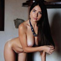 Stunning Brunette Niemira Stripping - Eternal Desire