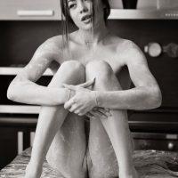 Katia Nude In Black n White