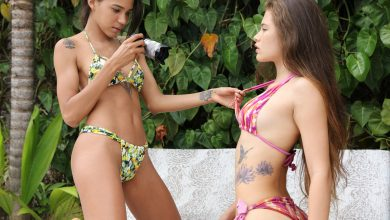 Photo of Two Hot Latinas Irene Rouse And Abril (Photographers)